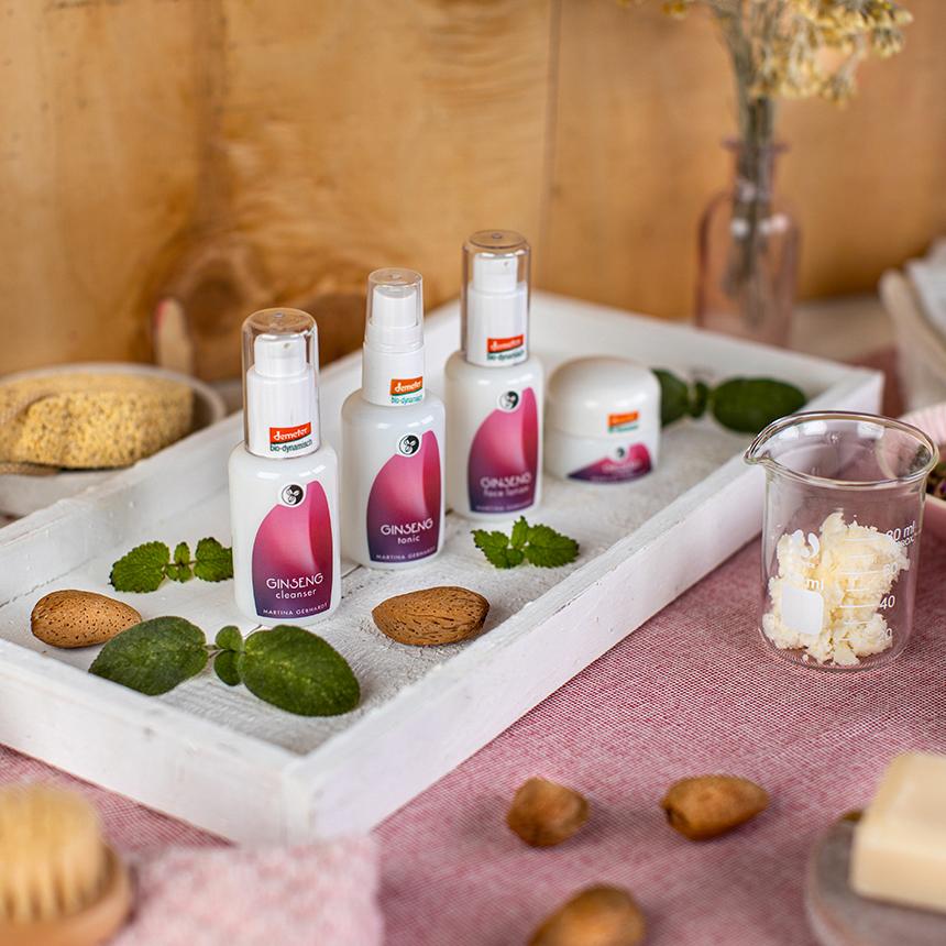 Energiabomba a fáradt bőrnek: Martina Gebhardt ginzeng termékek